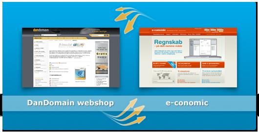 DanDomain e-conomic integration